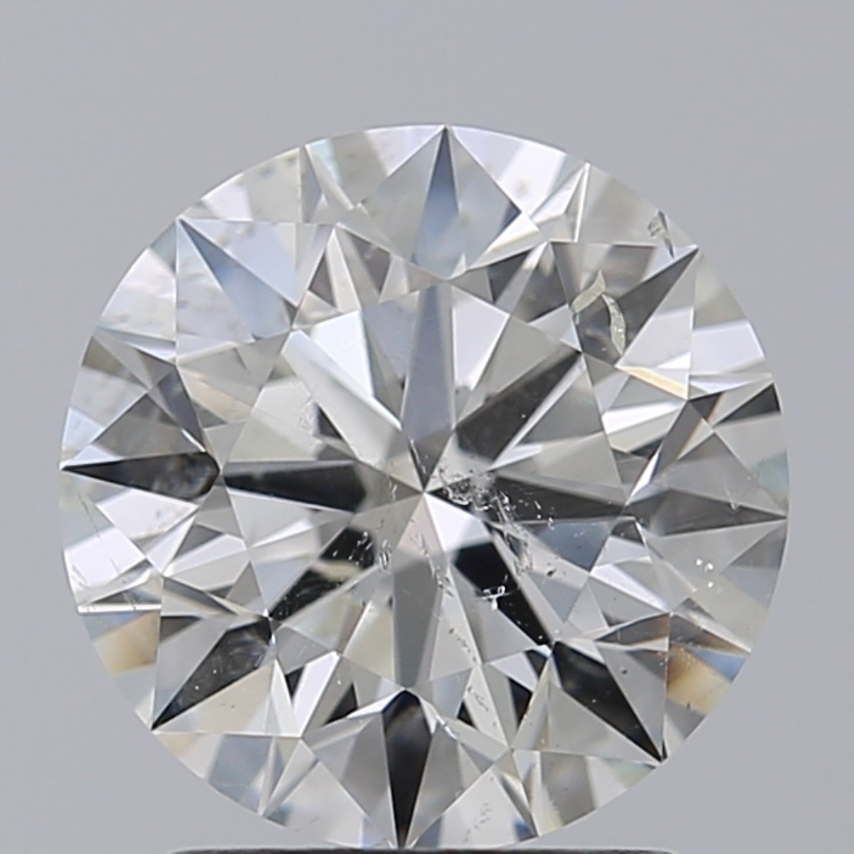 2.01 Carat Round Brilliant Diamond (I/SI2)