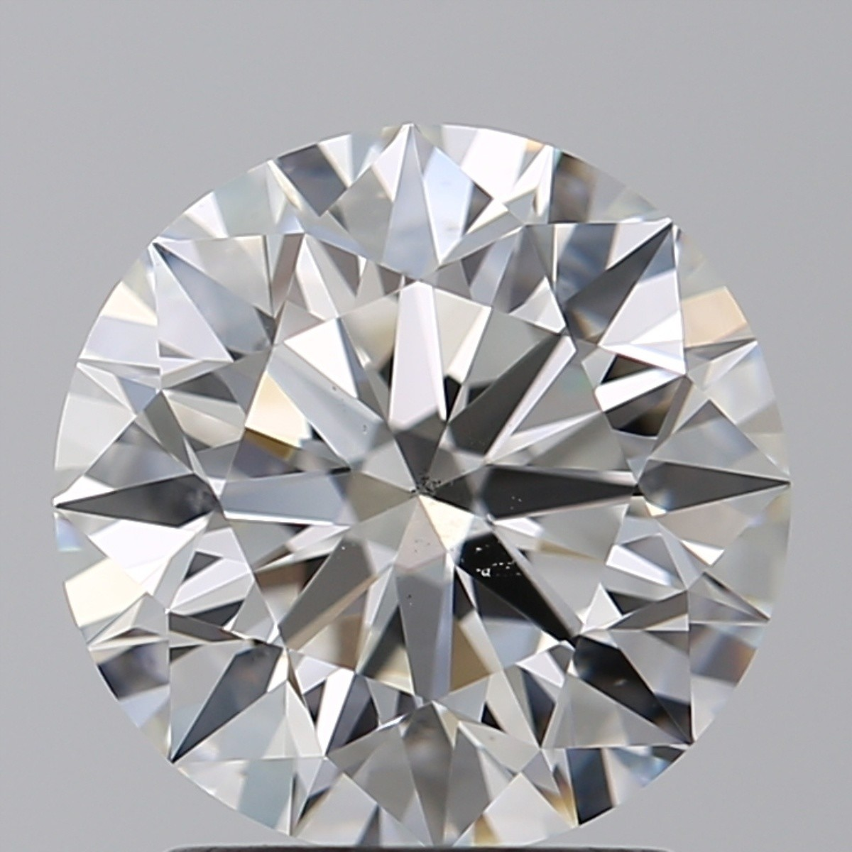 2.03 Carat Round Brilliant Diamond (G/SI1)