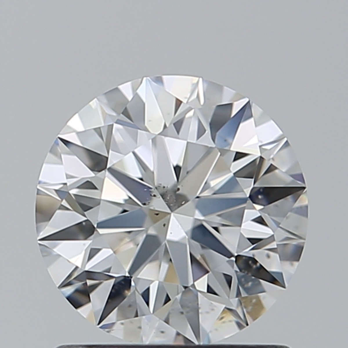 1.02 Carat Round Brilliant Diamond (D/SI1)