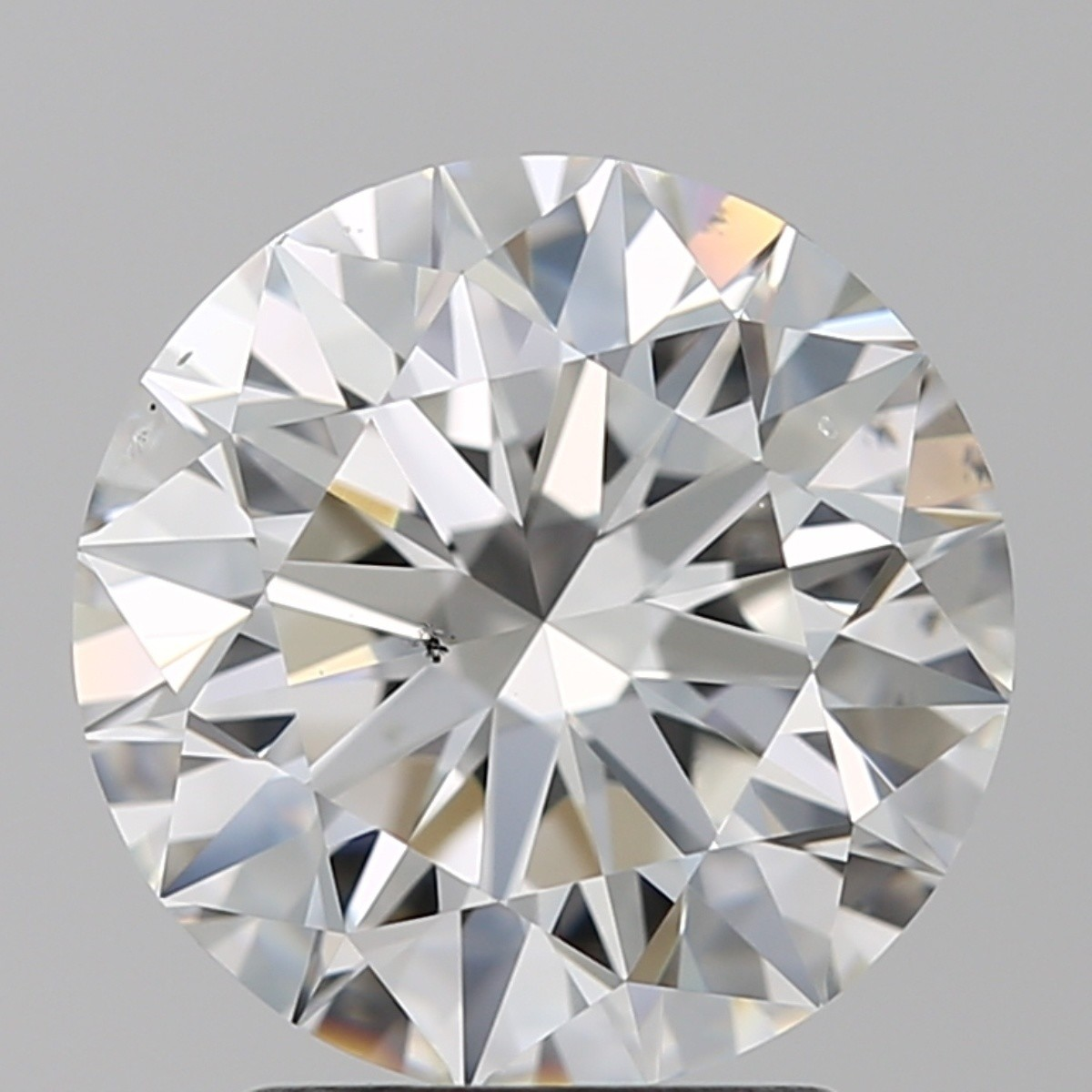2.51 Carat Round Brilliant Diamond (F/SI1)