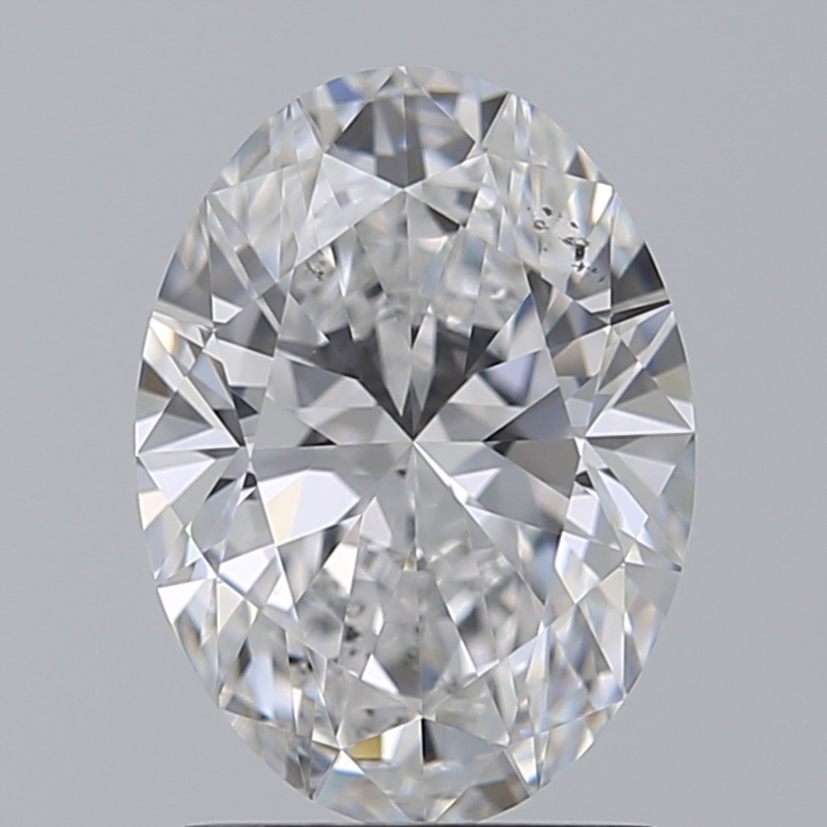 1.51 Carat Oval Diamond (D/SI1)