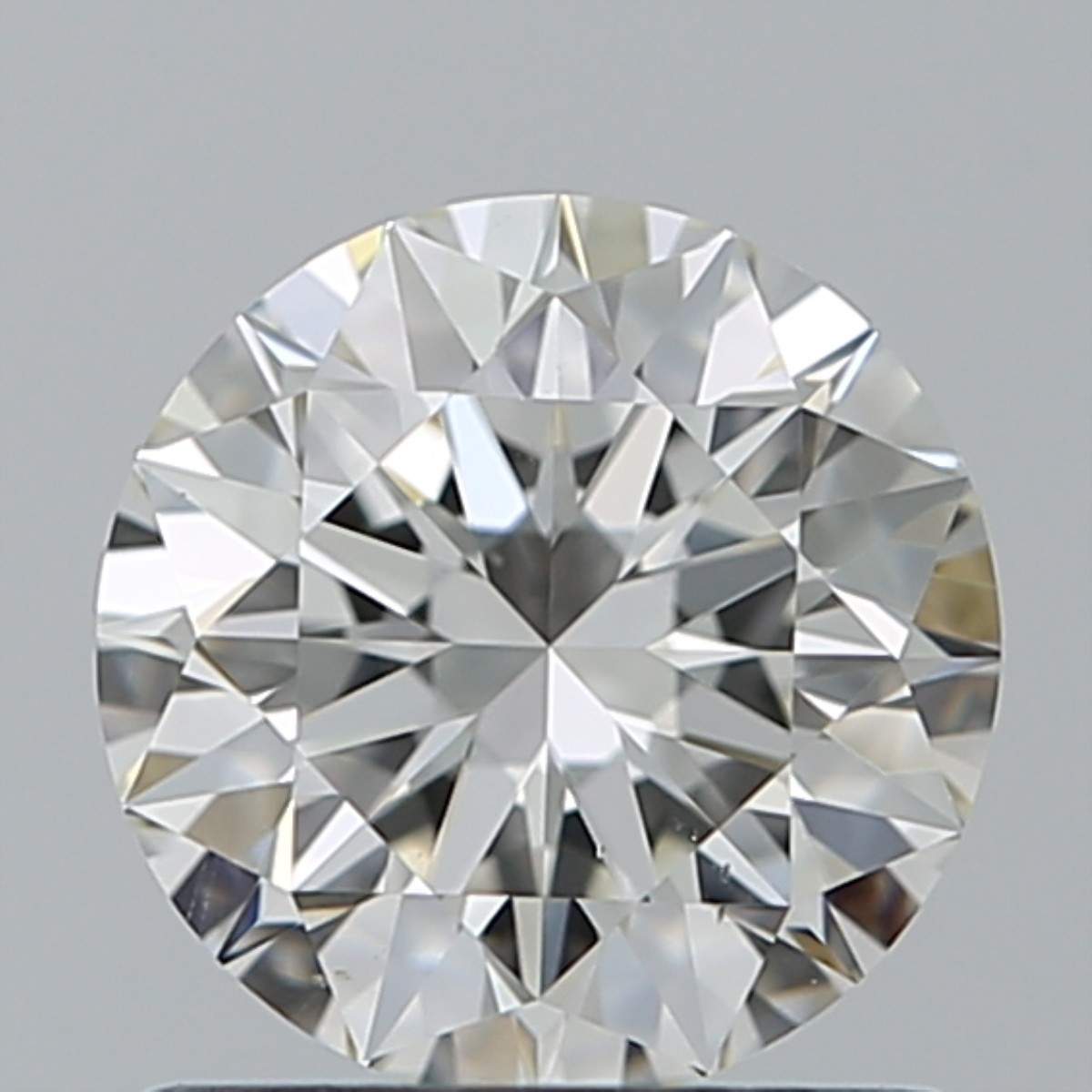 0.90 Carat Round Brilliant Diamond (I/VS2)