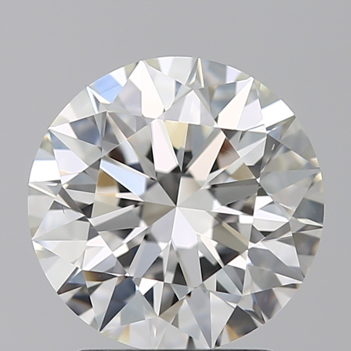 2.01 Carat Round Brilliant Diamond (H/VS2)