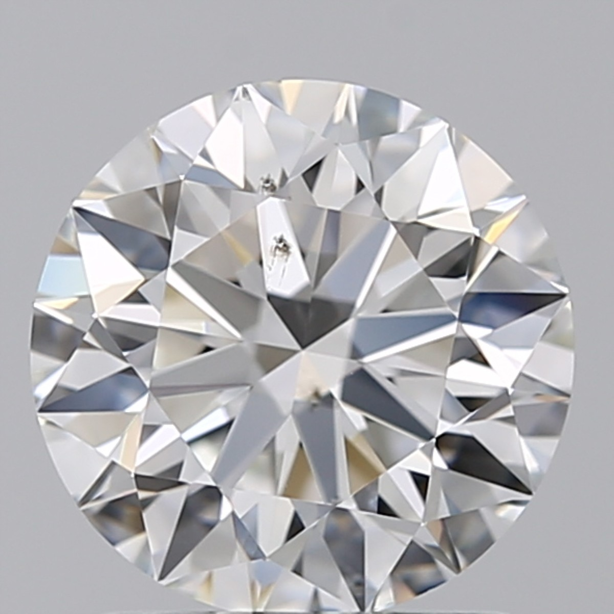 1.28 Carat Round Brilliant Diamond (F/SI1)