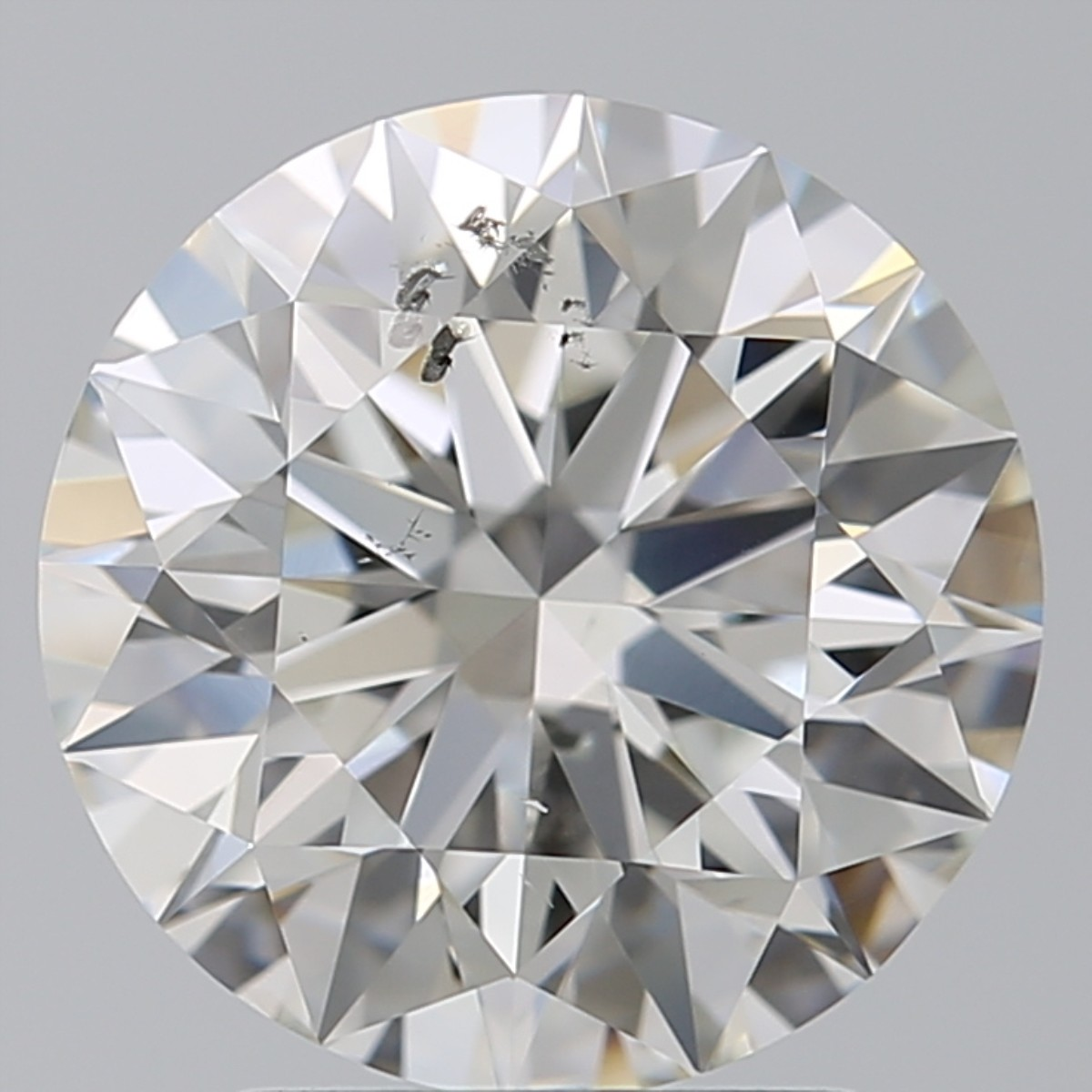 2.50 Carat Round Brilliant Diamond (G/SI2)