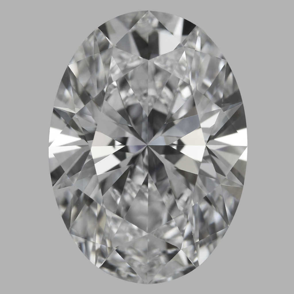 4.01 Carat Oval Diamond (D/FL)