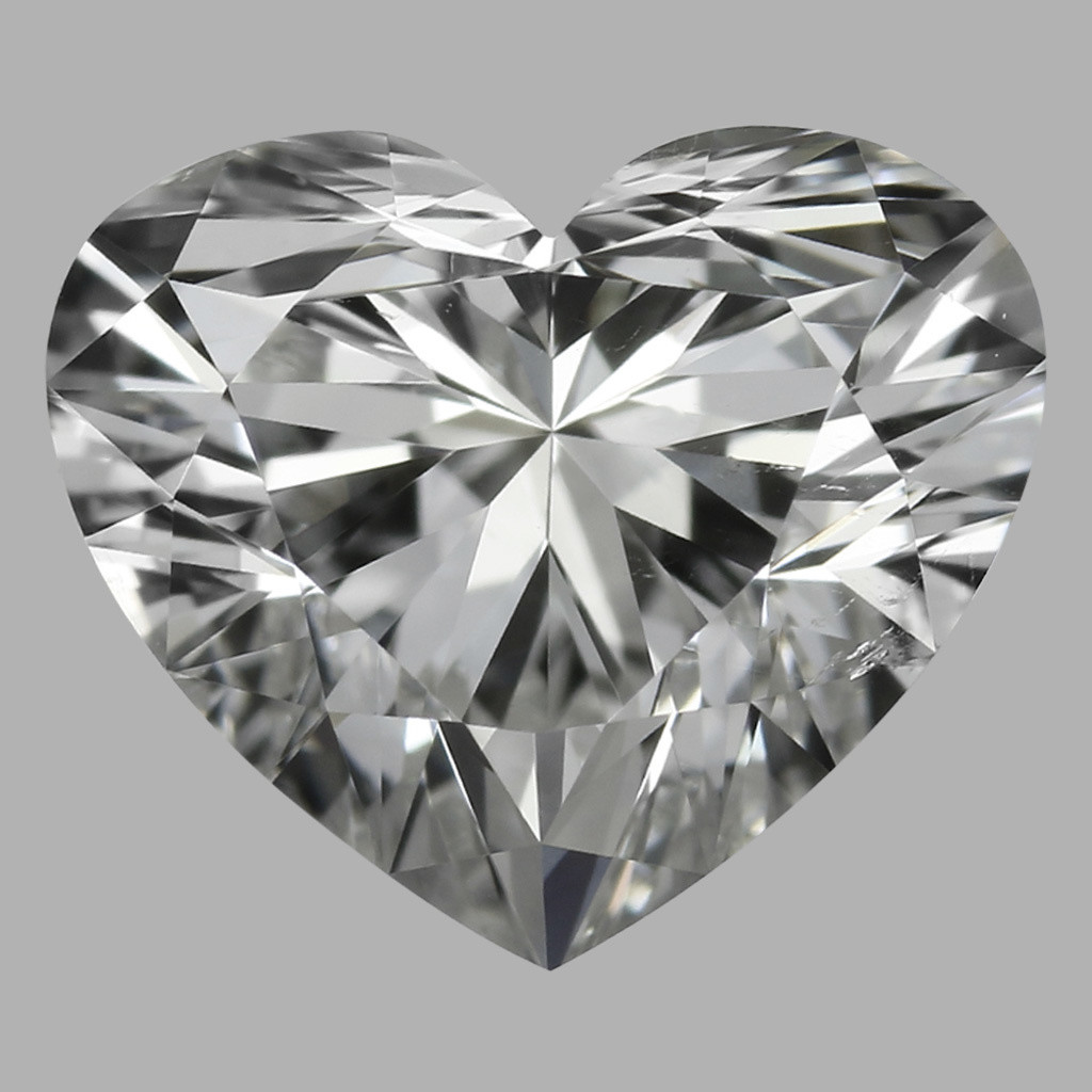 0.80 Carat Heart Diamond (G/SI1)