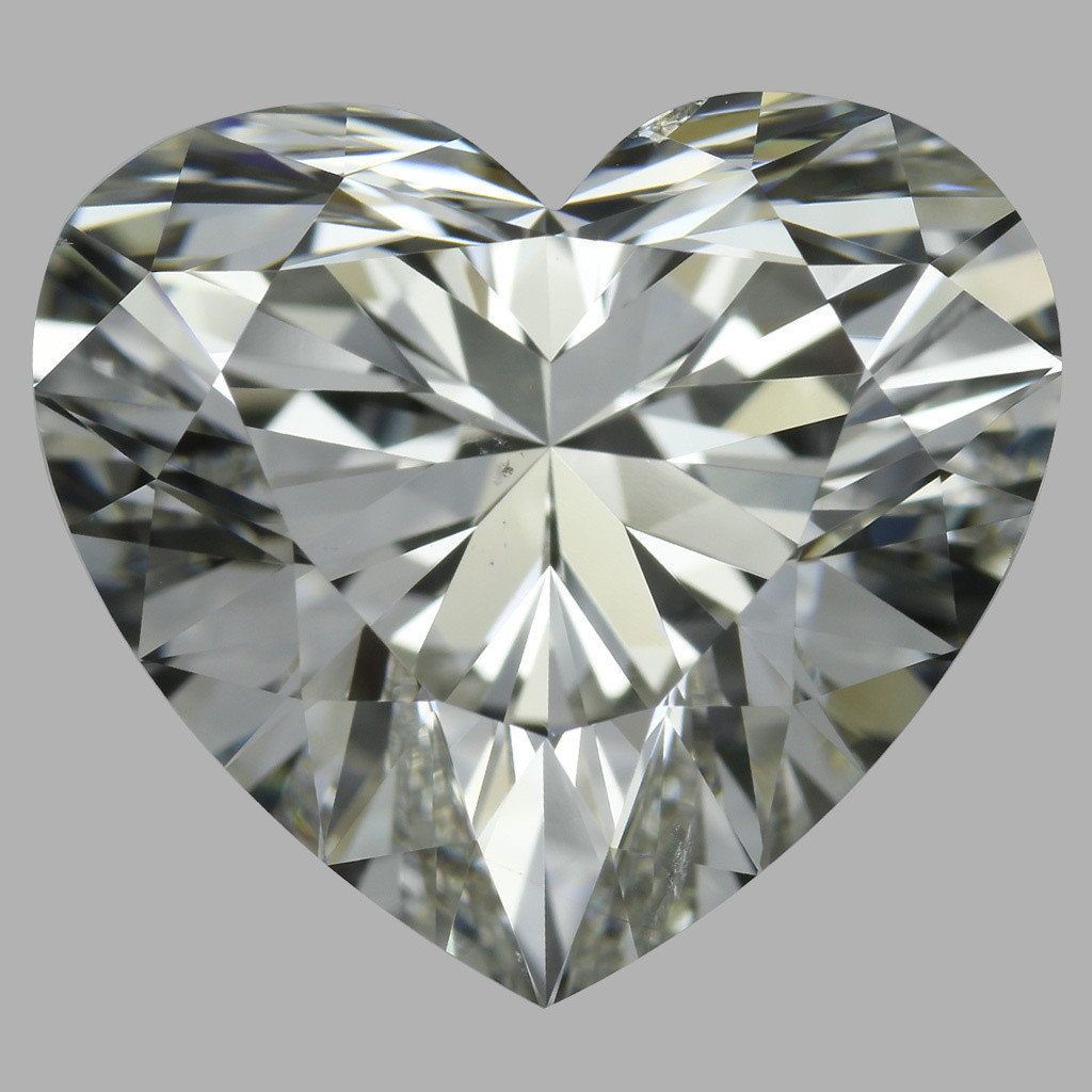 4.02 Carat Heart Diamond (I/SI1)