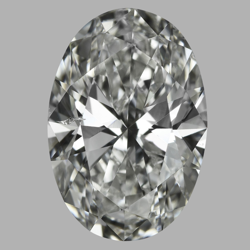 2.01 Carat Oval Diamond (H/SI2)