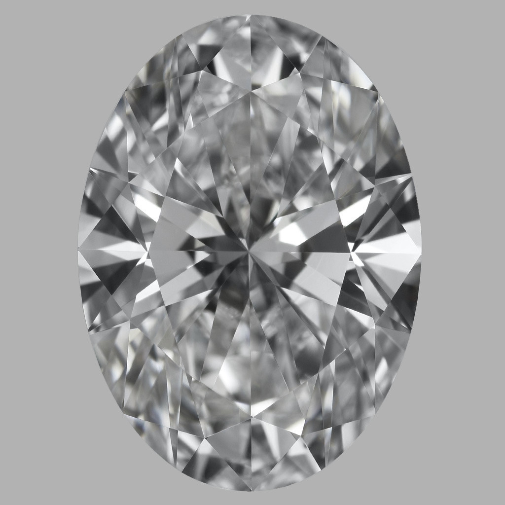 4.05 Carat Oval Diamond (D/VVS1)