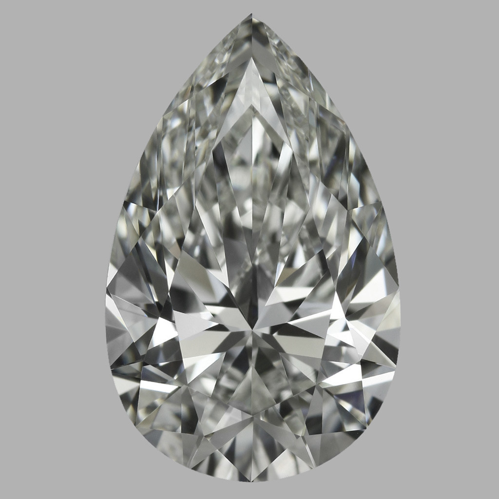 2.05 Carat Pear Diamond (J/IF)
