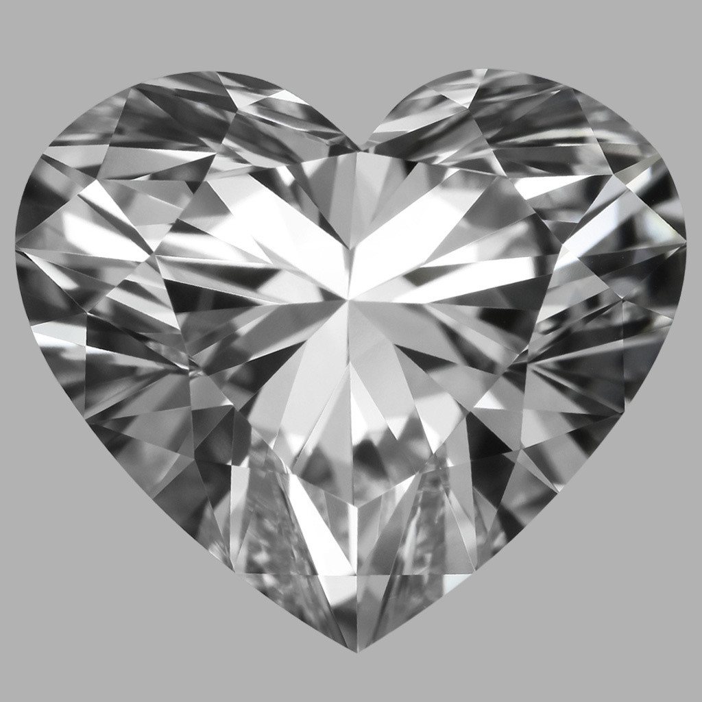3.25 Carat Heart Diamond (D/FL)