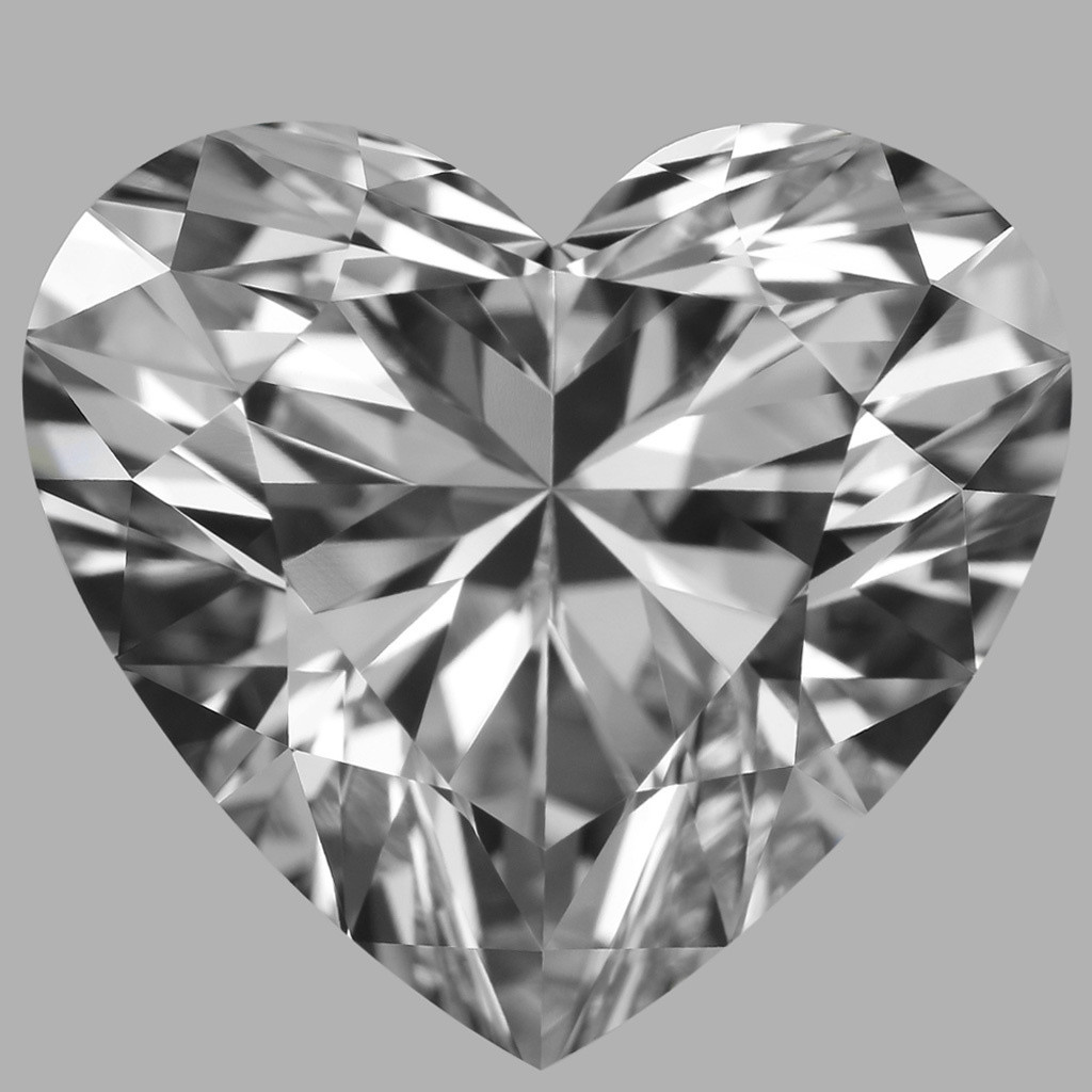 5.04 Carat Heart Diamond (E/IF)