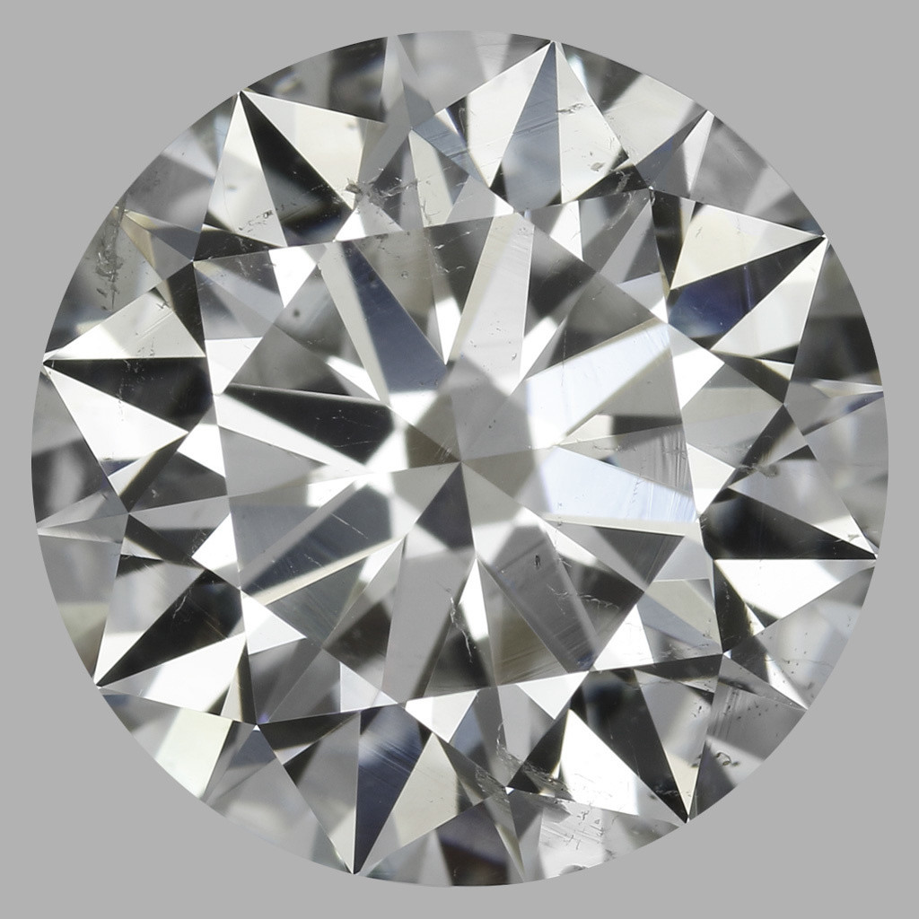 2.54 Carat Round Brilliant Diamond (I/SI2)