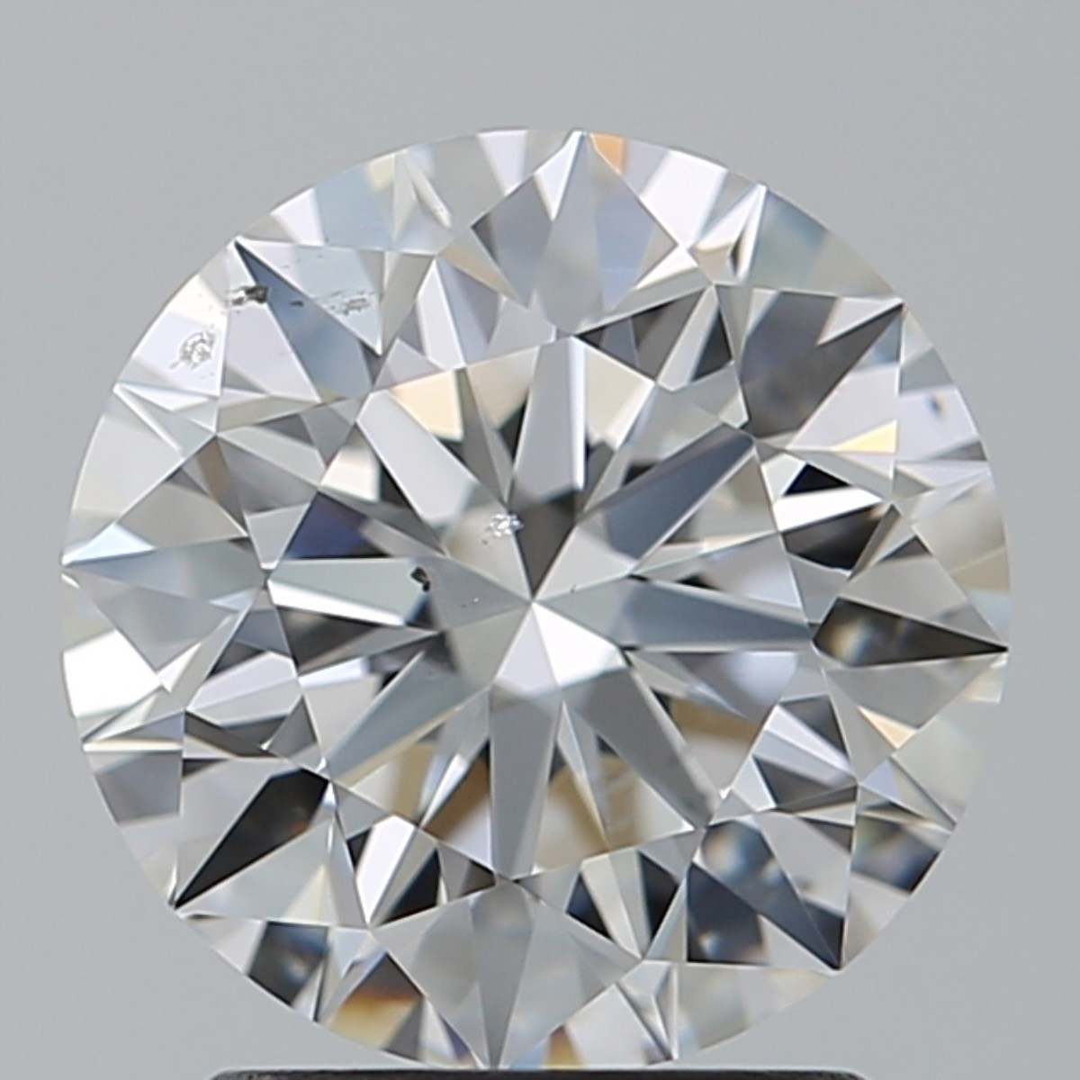 2.01 Carat Round Brilliant Diamond (D/SI1)