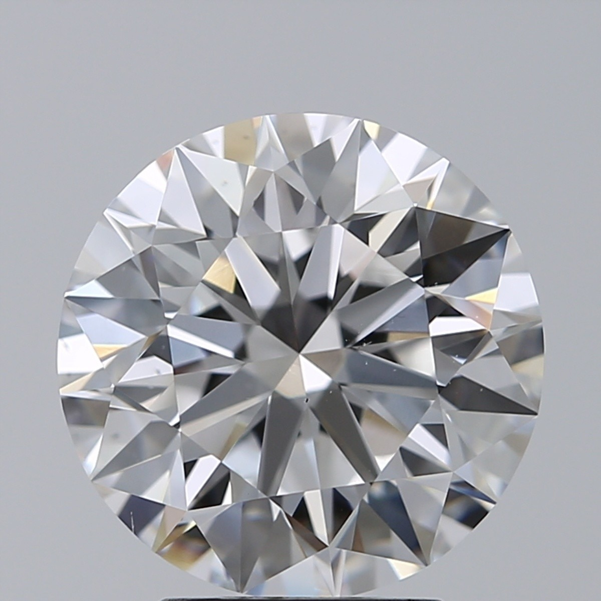 3.03 Carat Round Brilliant Diamond (D/VS2)