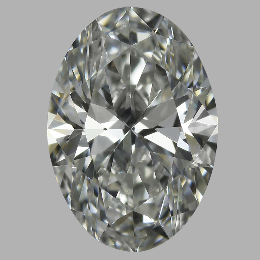 0.76 Carat Oval Diamond (H/VS1)