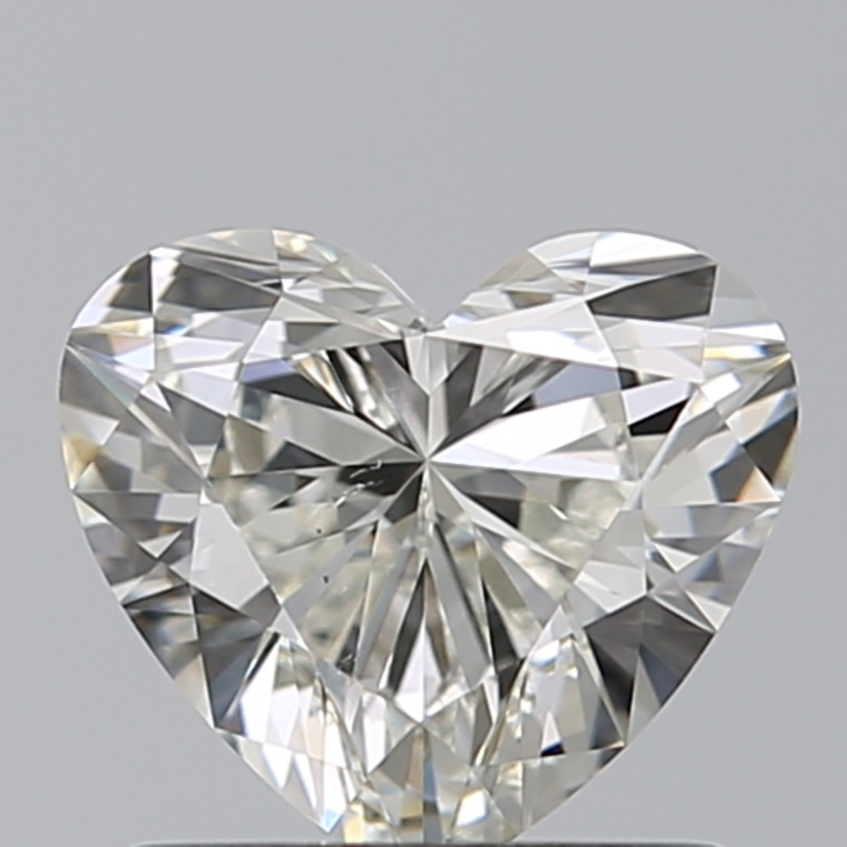 0.83 Carat Heart Diamond (J/SI1)