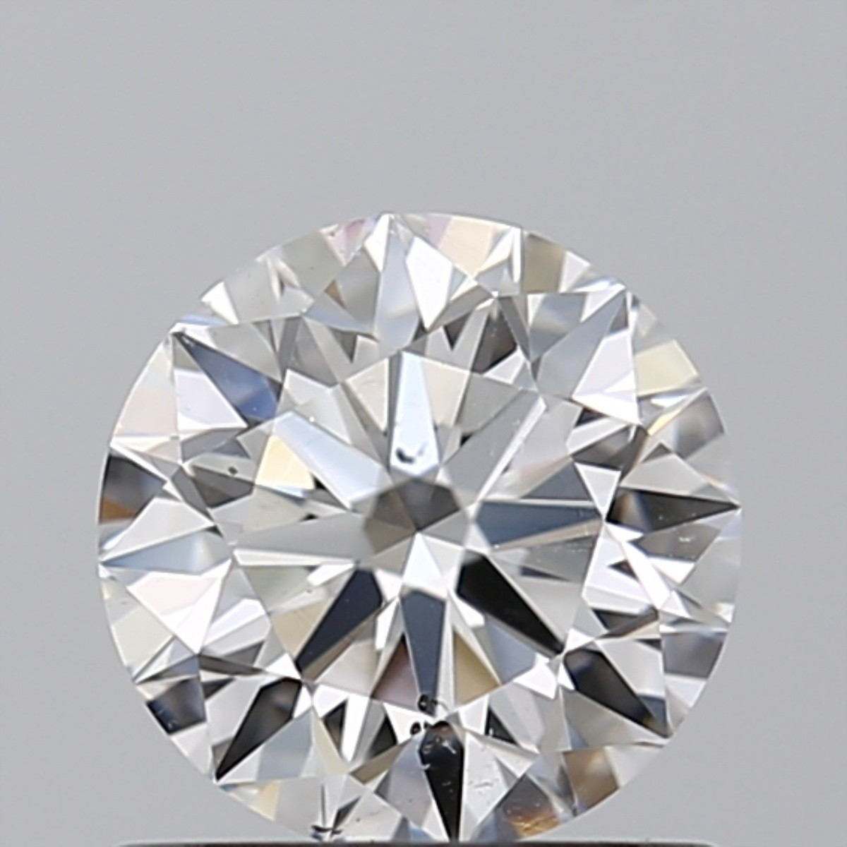 0.75 Carat Round Brilliant Diamond (D/SI1)