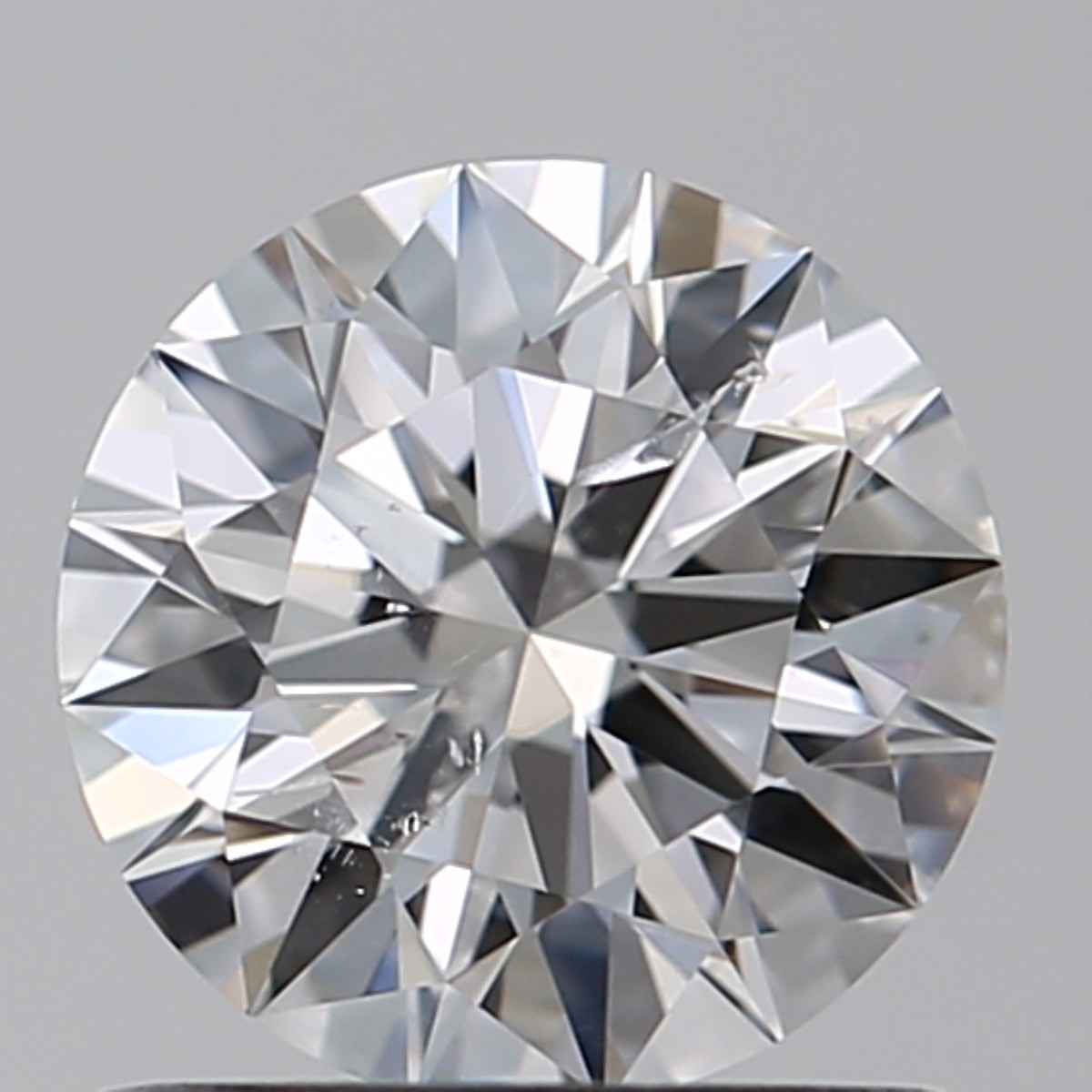 0.90 Carat Round Brilliant Diamond (D/SI2)
