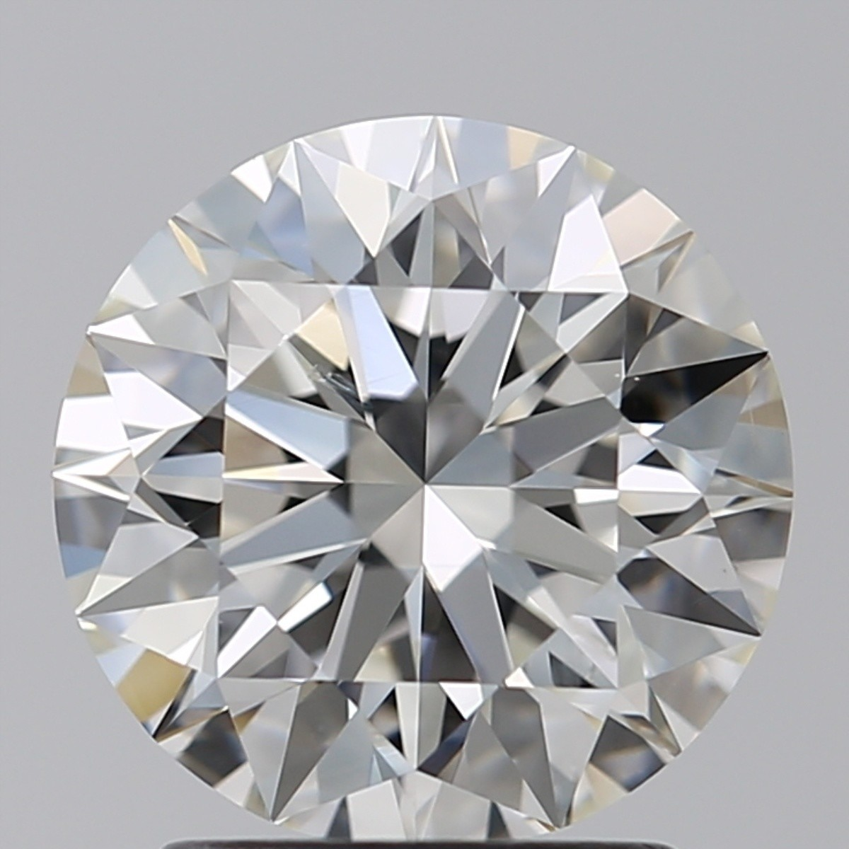 2.08 Carat Round Brilliant Diamond (H/SI1)