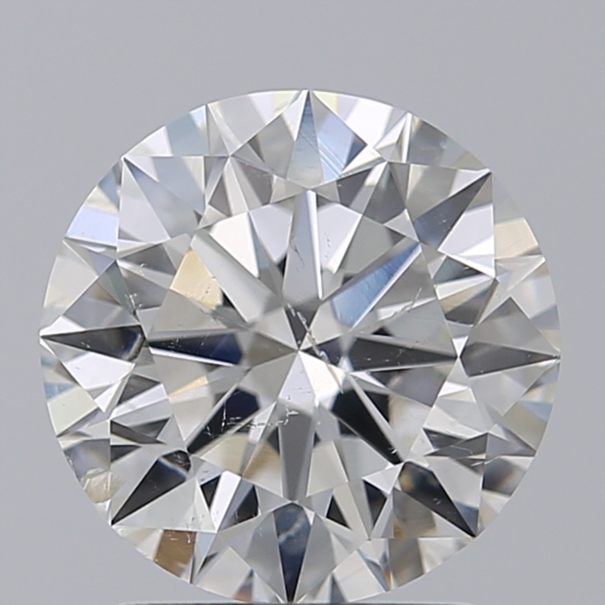 2.01 Carat Round Brilliant Diamond (H/SI2)