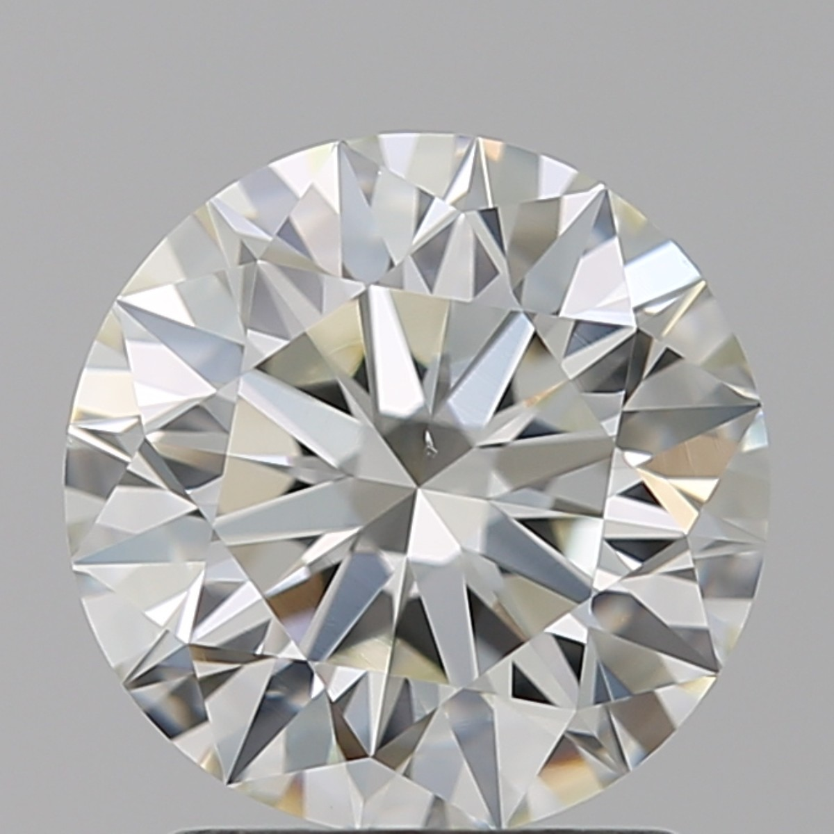 1.63 Carat Round Brilliant Diamond (I/VS2)