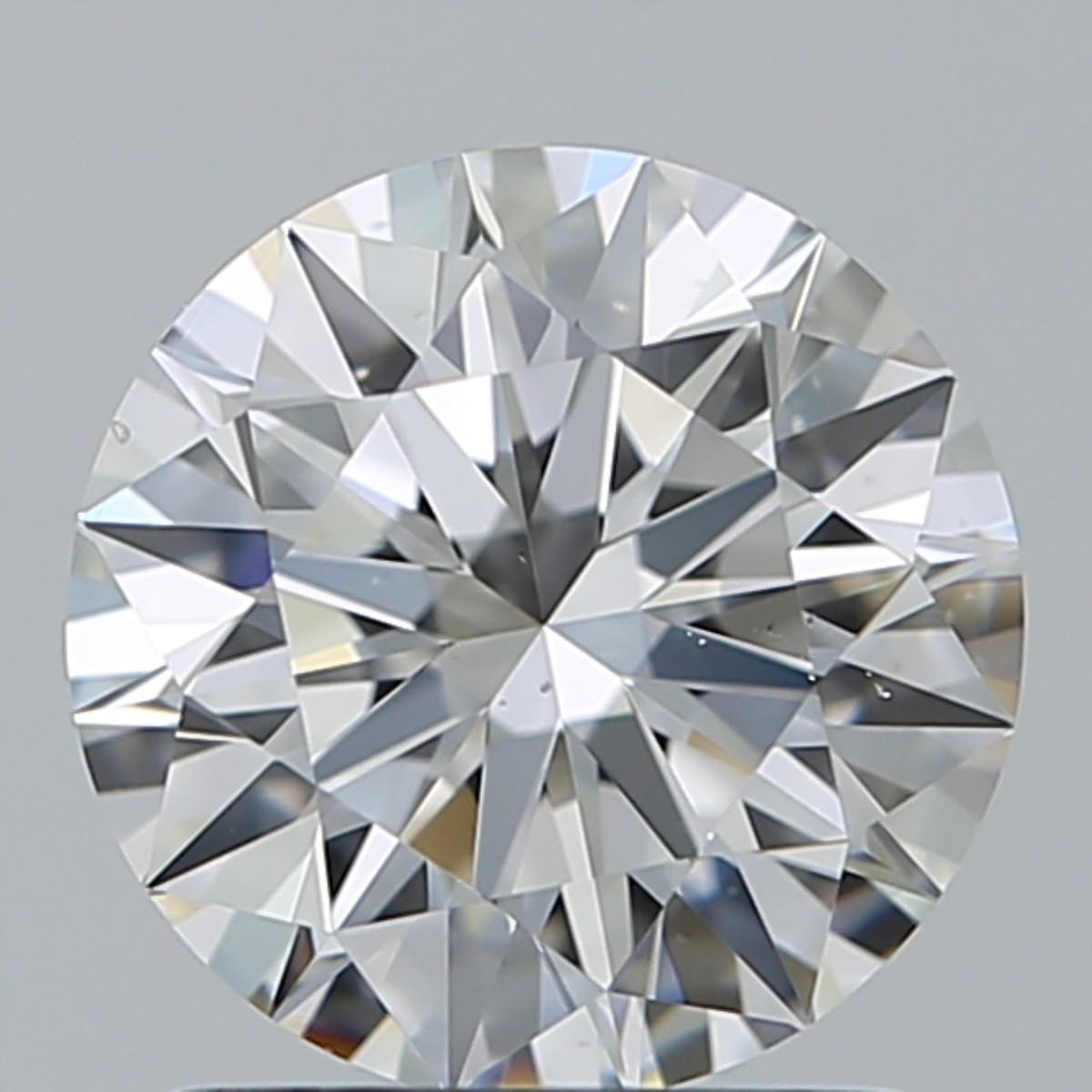 1.33 Carat Round Brilliant Diamond (F/VS2)