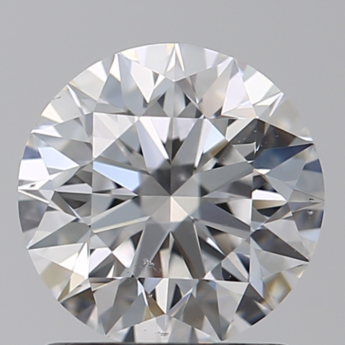 1.29 Carat Round Brilliant Diamond (D/VS2)