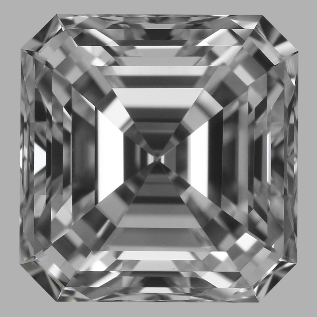 1.01 Carat Asscher Diamond (E/IF)
