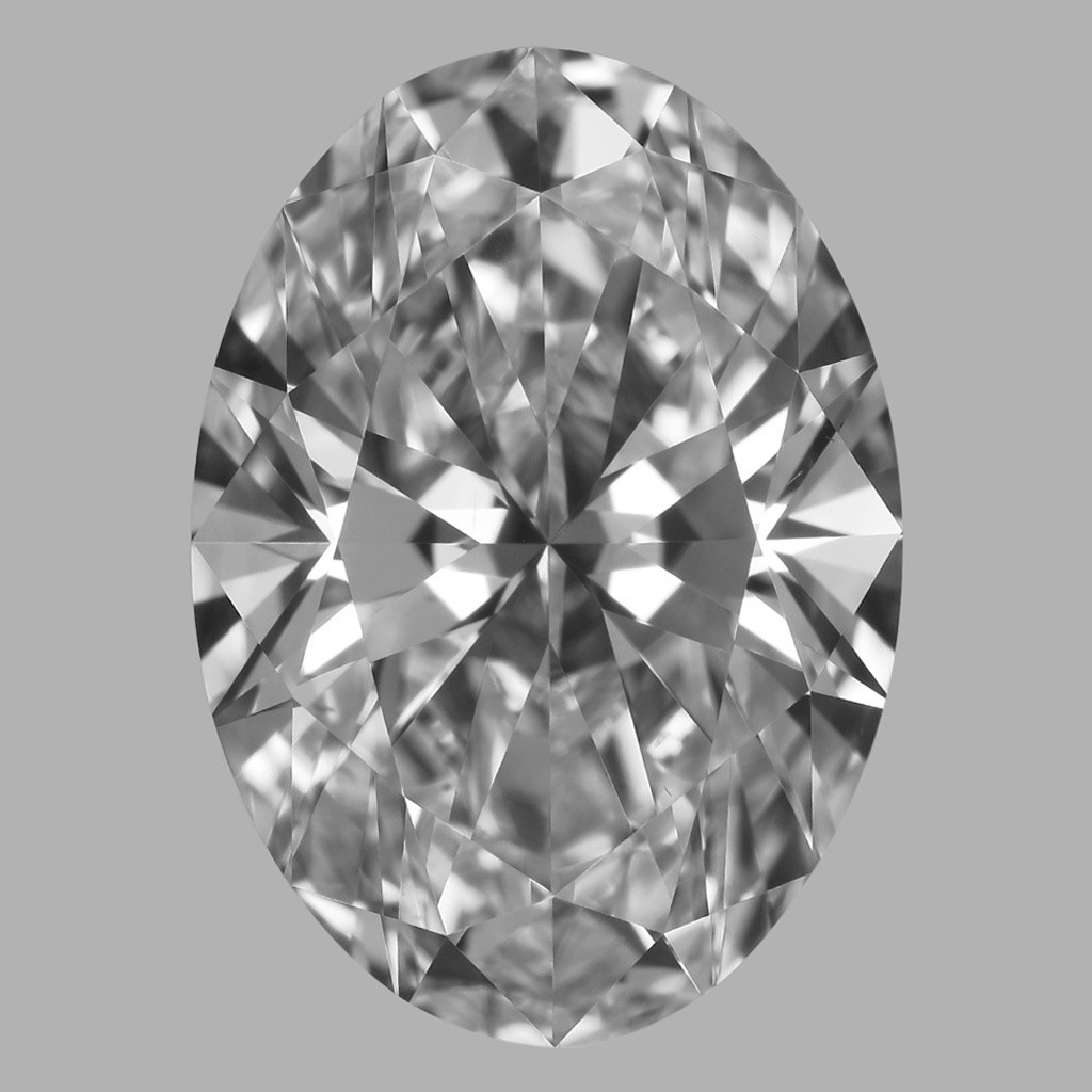 3.02 Carat Oval Diamond (D/VS1)