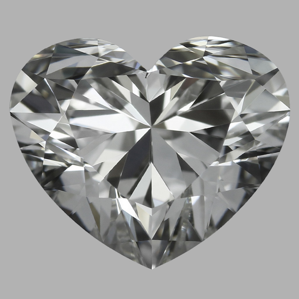 0.90 Carat Heart Diamond (H/IF)