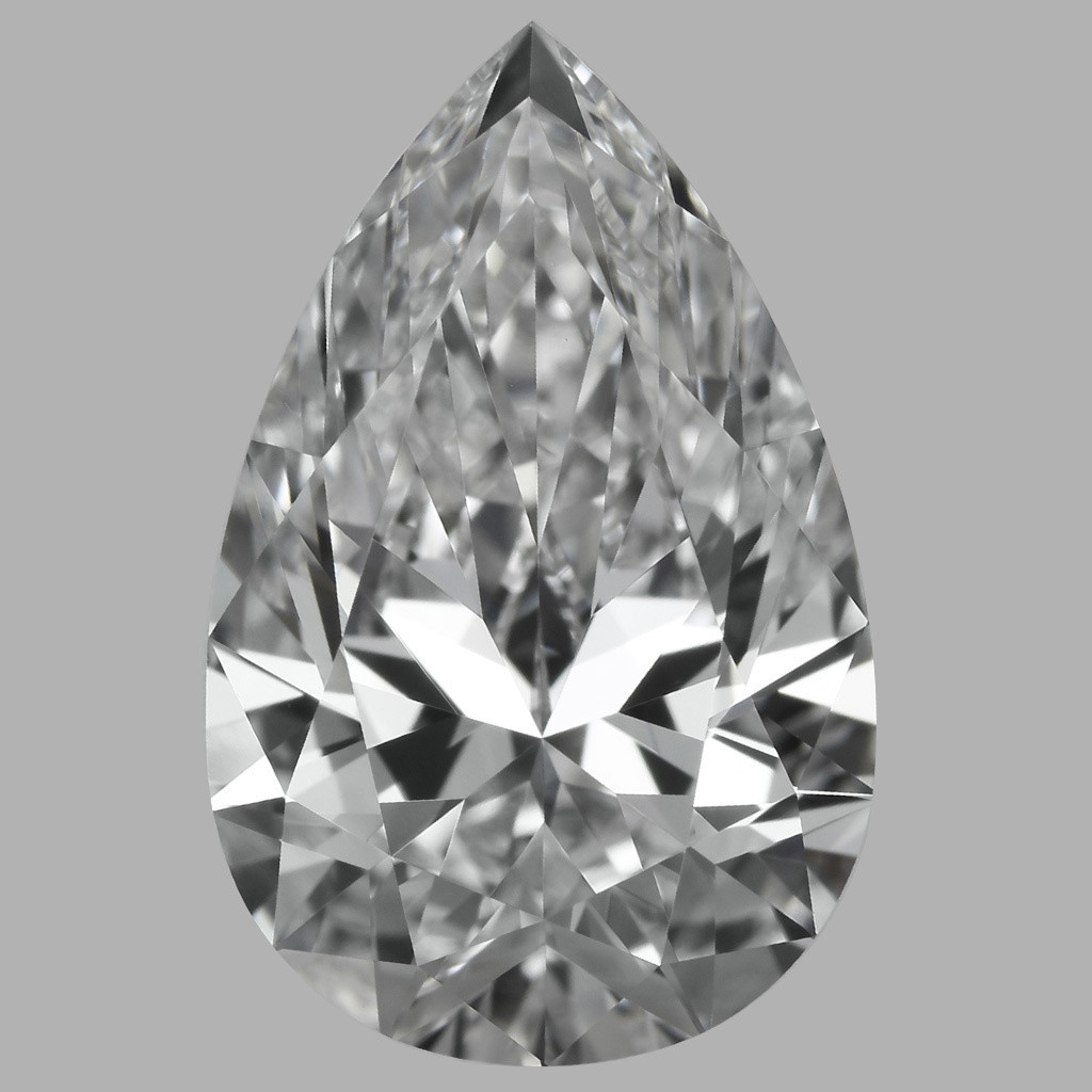 1.70 Carat Pear Diamond (D/IF)