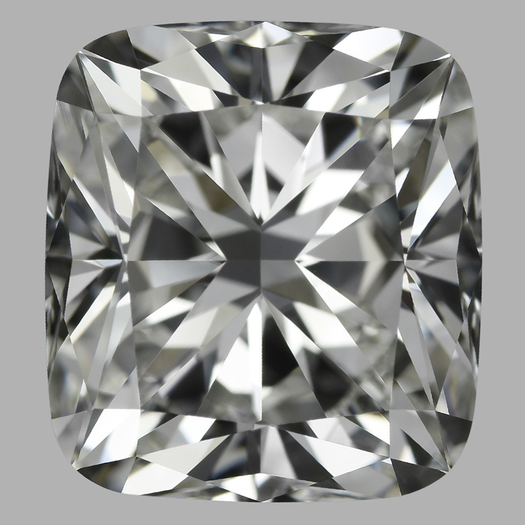 4.05 Carat Cushion Diamond (H/VVS2)