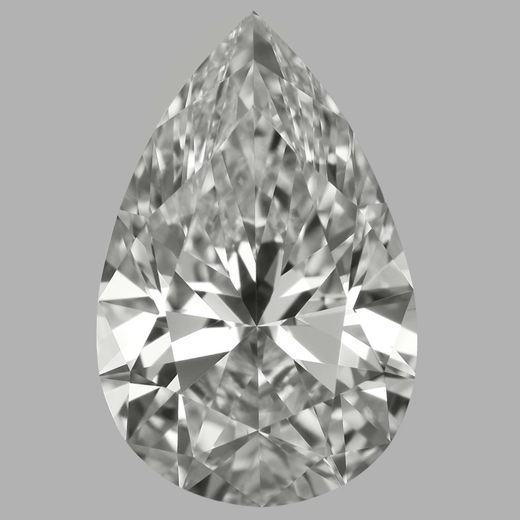 1.51 Carat Pear Diamond (D/IF)