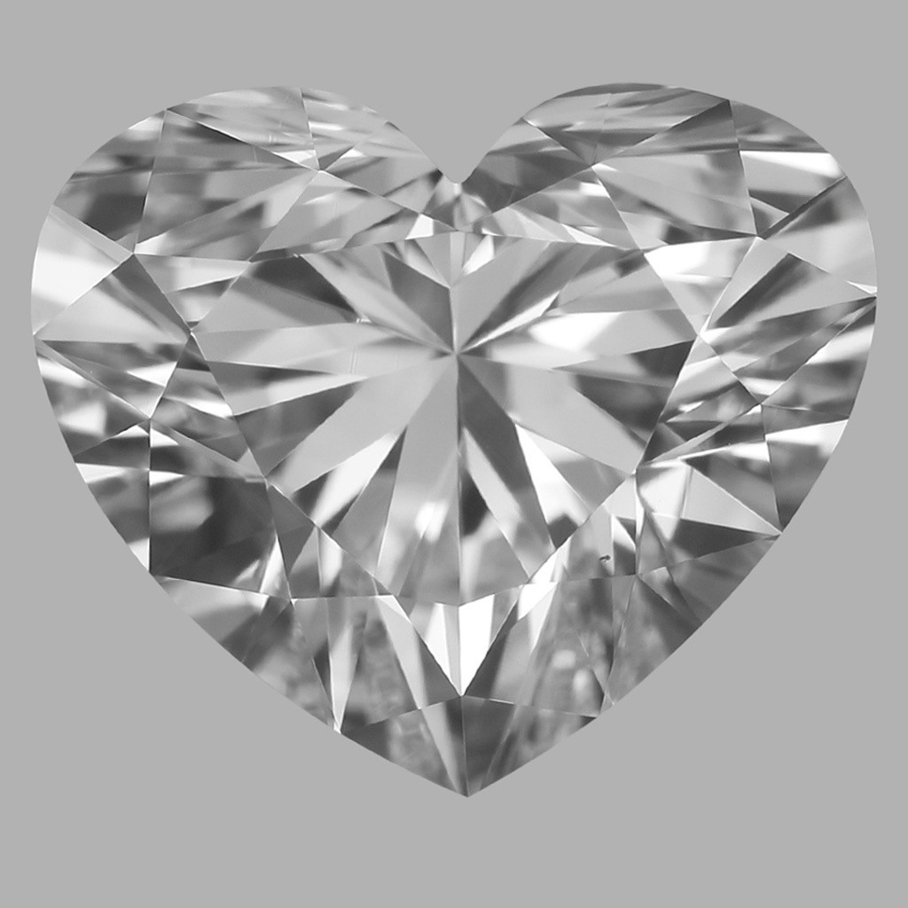 1.02 Carat Heart Diamond (D/VS1)