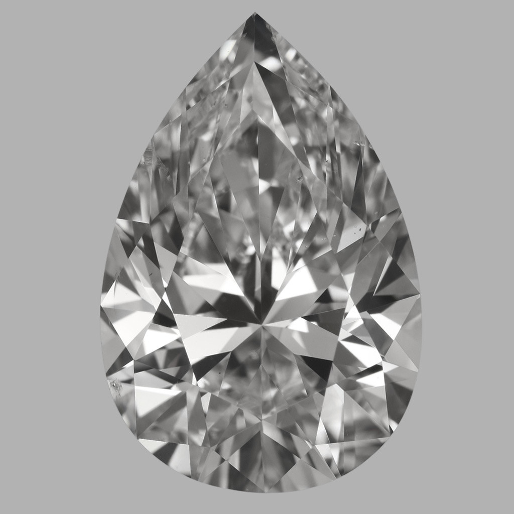 5.02 Carat Pear Diamond (D/SI1)