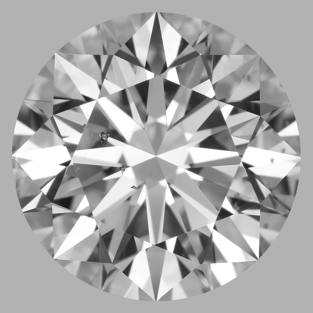 5.03 Carat Round Brilliant Diamond (D/SI1)