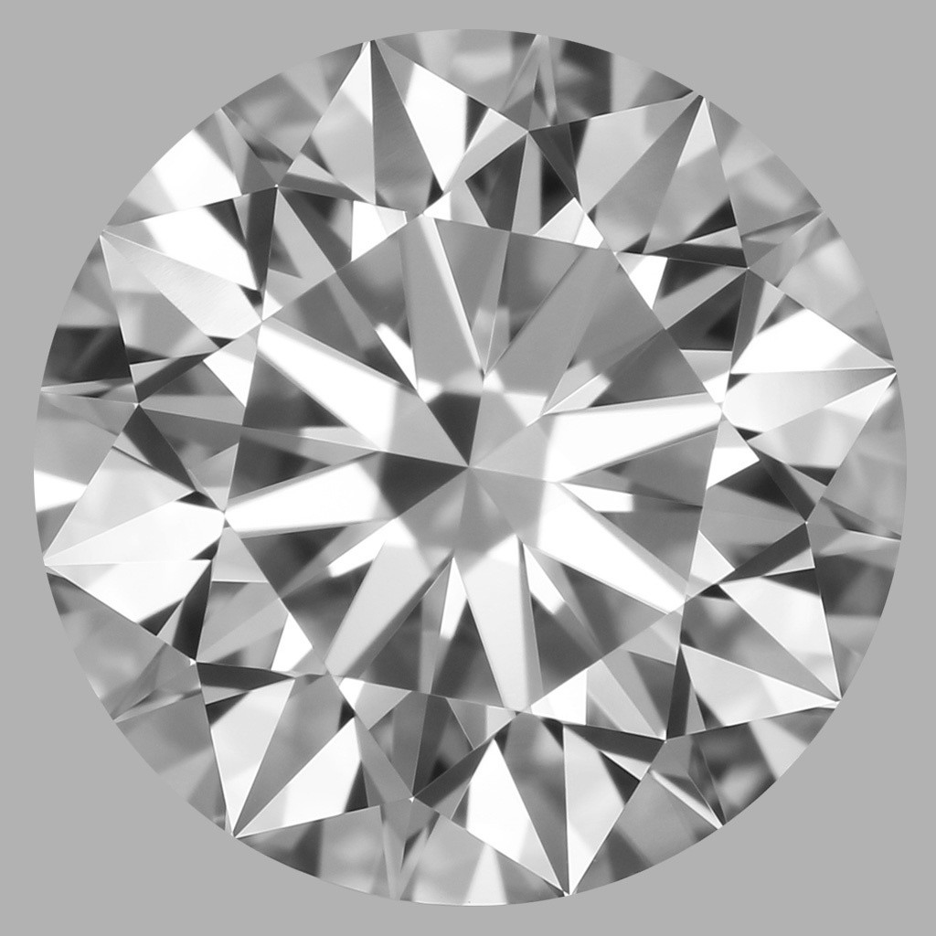 1.80 Carat Round Brilliant Diamond (D/FL)