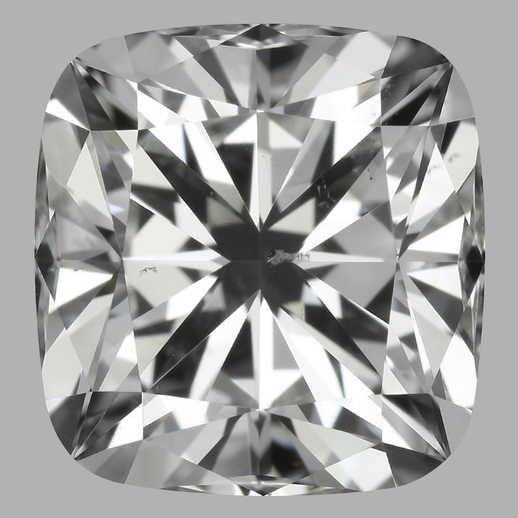 2.22 Carat Cushion Diamond (H/SI1)