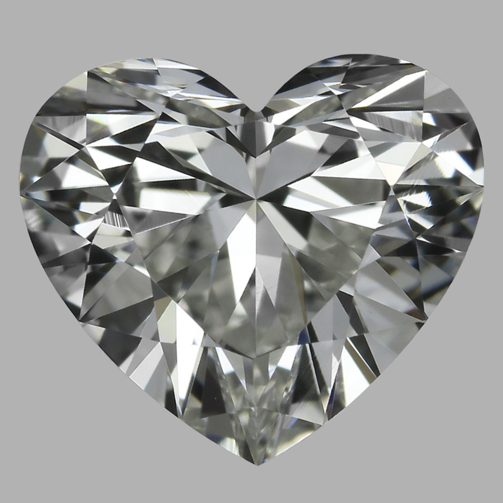 0.80 Carat Heart Diamond (I/VVS2)