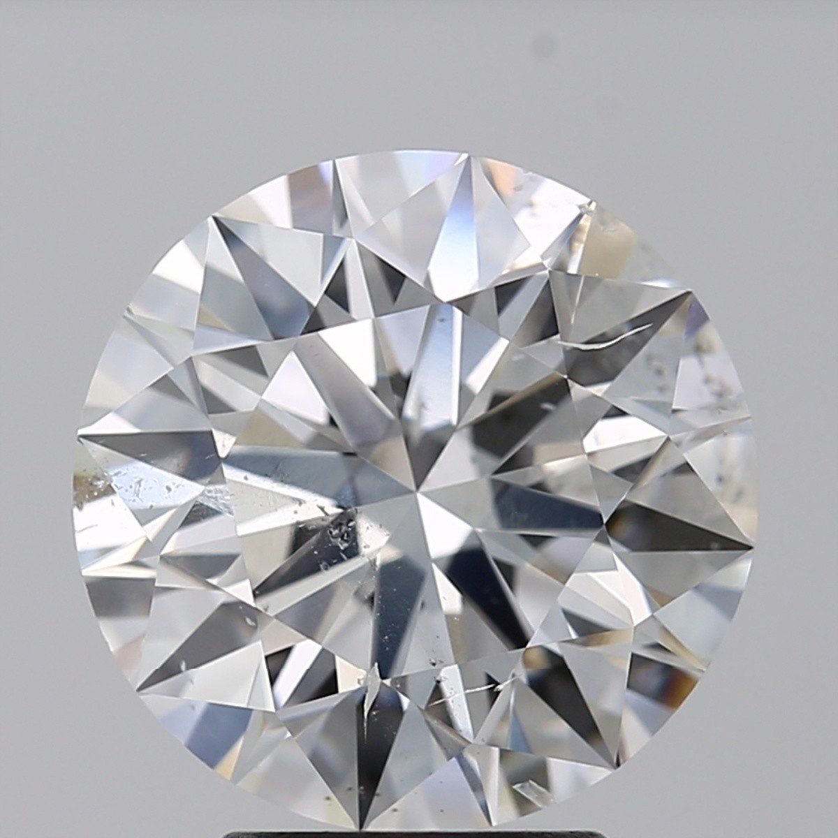 3.55 Carat Round Brilliant Diamond (D/SI2)