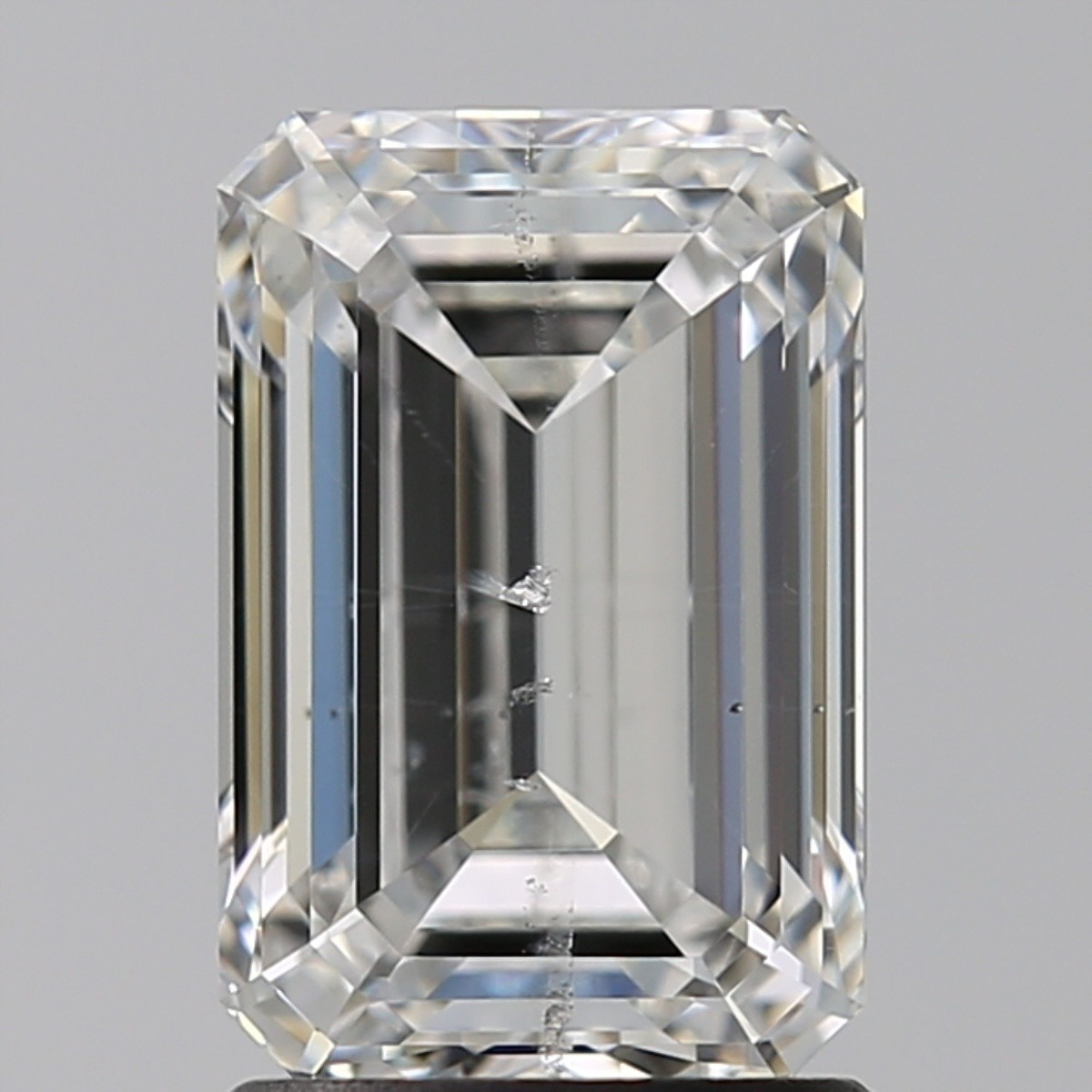 2.01 Carat Emerald Diamond (F/SI2)