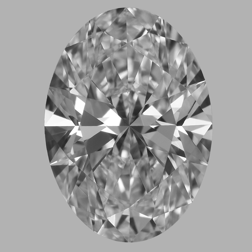 1.27 Carat Oval Diamond (D/VVS1)
