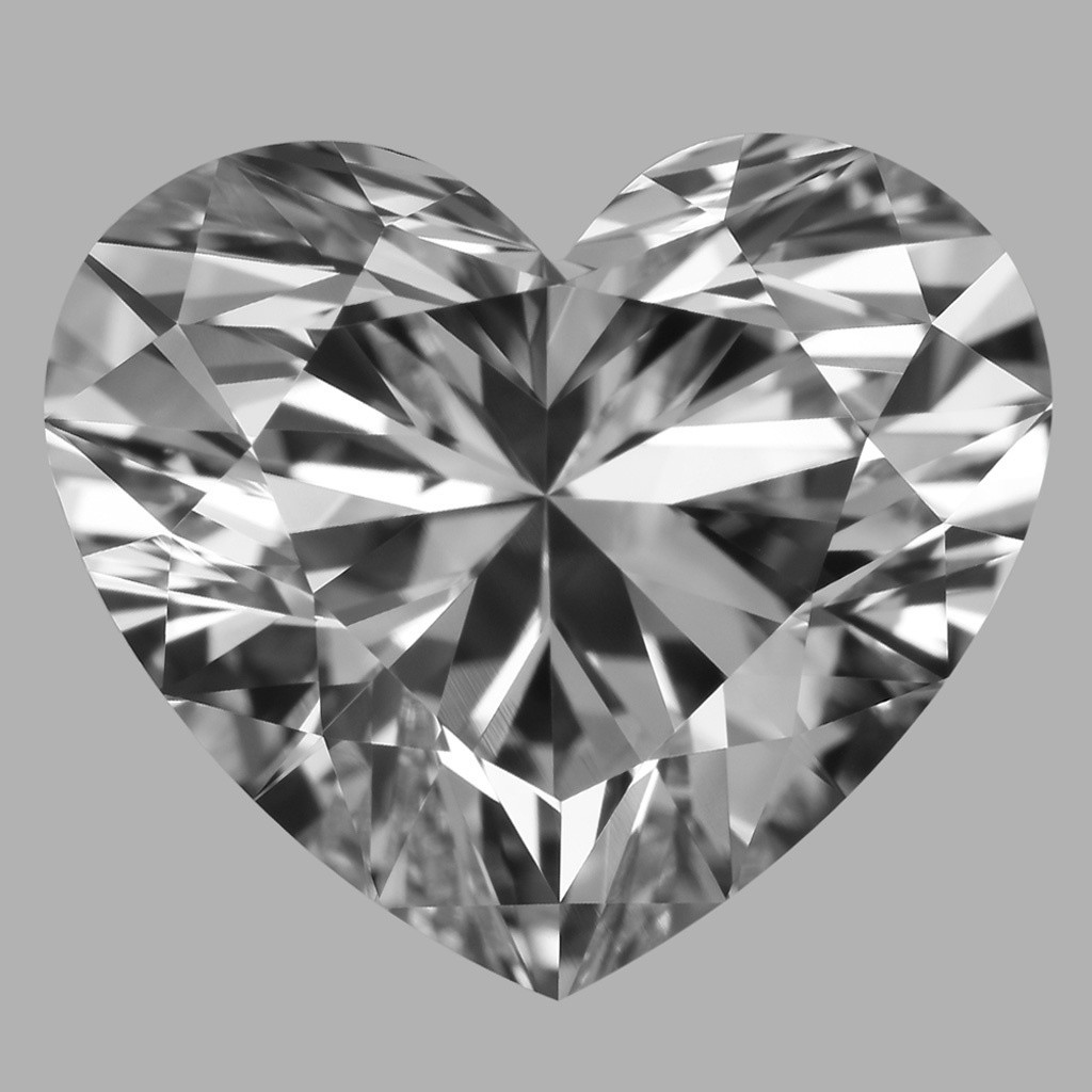 3.01 Carat Heart Diamond (D/FL)