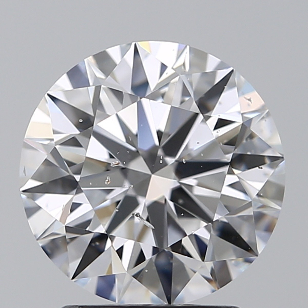 2.02 Carat Round Brilliant Diamond (D/SI2)