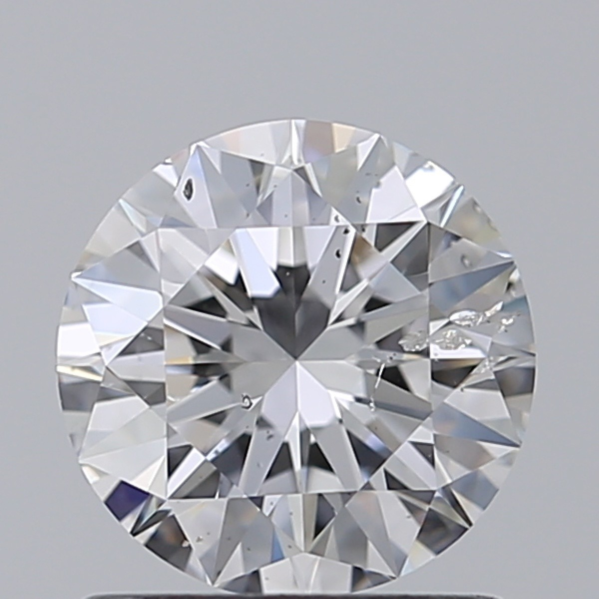 1.01 Carat Round Brilliant Diamond (D/SI2)