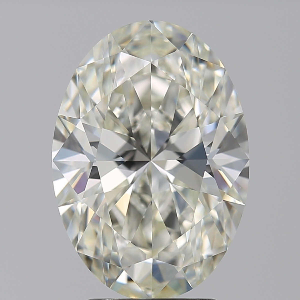 3.03 Carat Oval Diamond (J/VVS1)