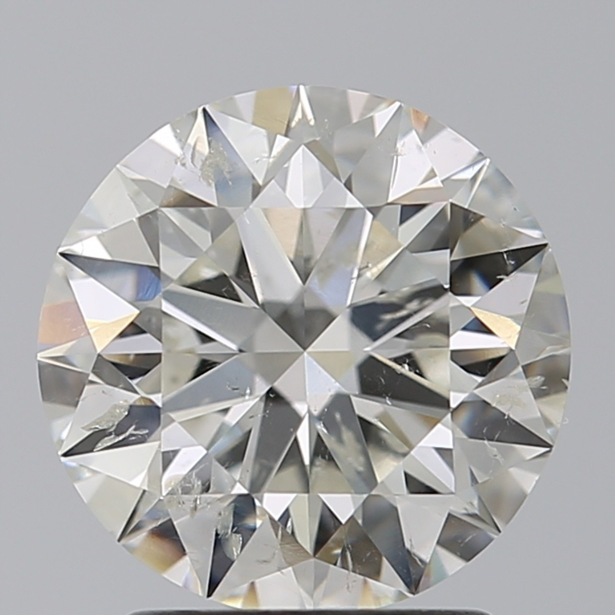 2.05 Carat Round Brilliant Diamond (I/SI2)