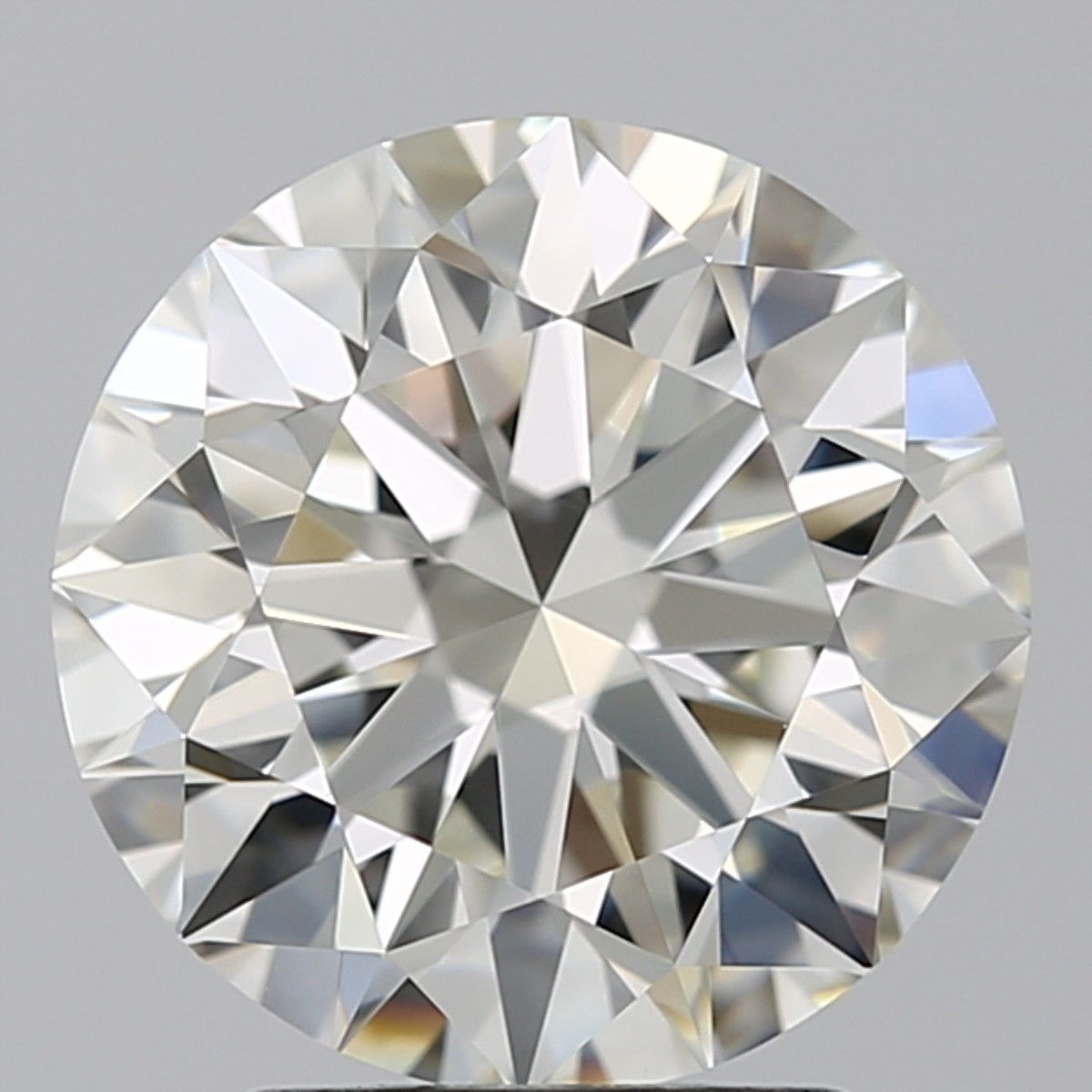 2.46 Carat Round Brilliant Diamond (J/VVS1)